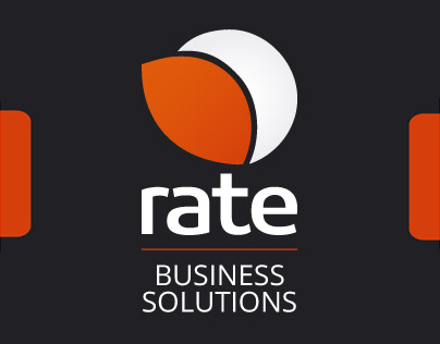 """""""Rate"""" corporate identity by Andris Rozentals."""