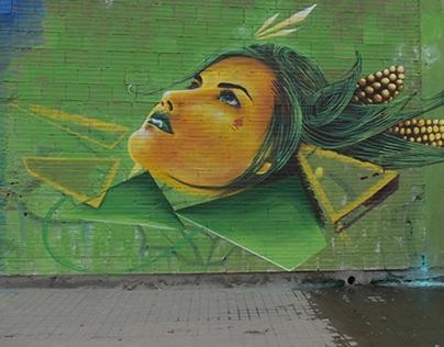 Pachamamá streetart (COPY)