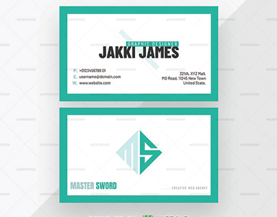 Ansa – Premium Publisher Business Card Template