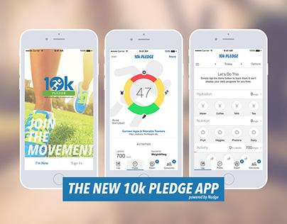 10k PLEDGE App
