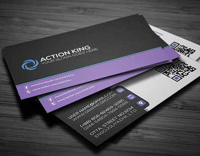 Download I Simple Corporat Business Card Template(Free)