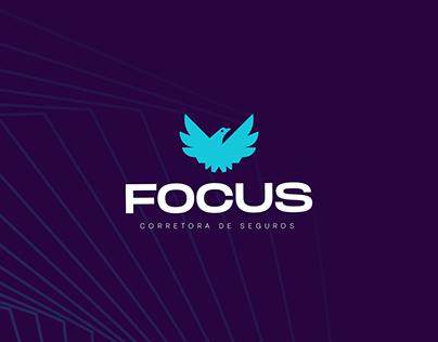 Focus Corretora de seguros   Identidade Visual