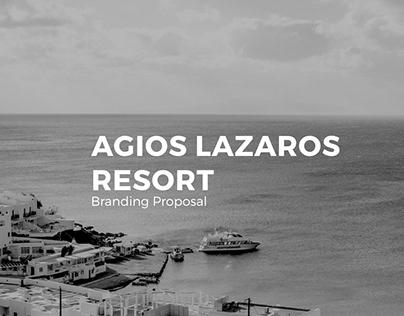 AGIOS LAZAROS RESORT Branding Proposal