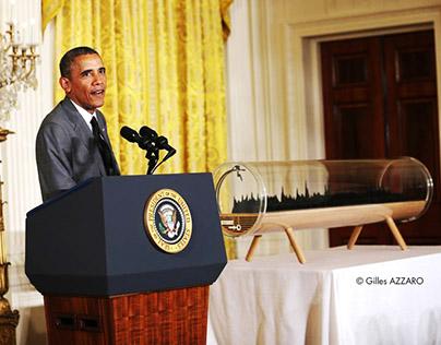 2013 Obama Voice Sculpture : Next Industrial Revolution