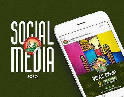 SOCIAL MEDIA│LOS MAGUEYES REST.