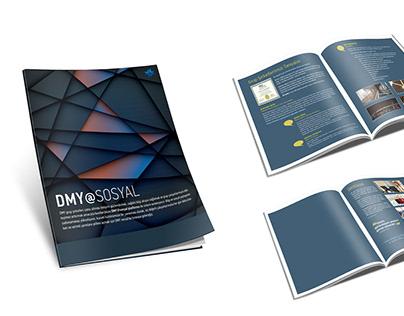 DMY Sosyal Magazine design