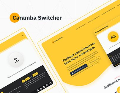 Redesign Of Caramba Switcher
