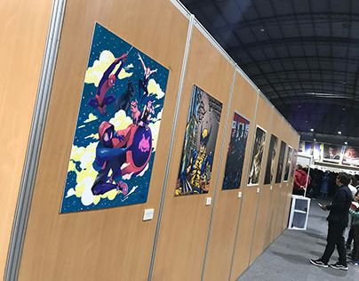 Comiccon Lima First Exhibition