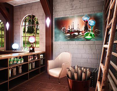 Alchemist's dwelling
