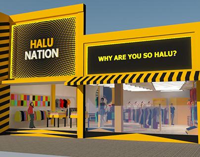 """Store Concept """"Halunation"""" at Cihampelas 154 Bandung"""