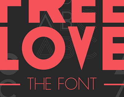 Free Love - The Font