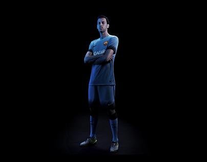 FC Barcelona 3rd kit - Night Rising