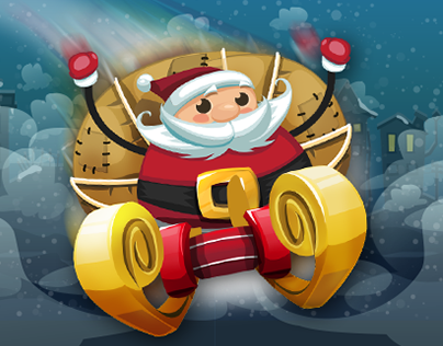 Make it Santa - Game