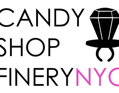 Candy Shop Finery - Sticker / Logo Design