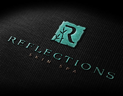 Reflections Skin Spa Branding