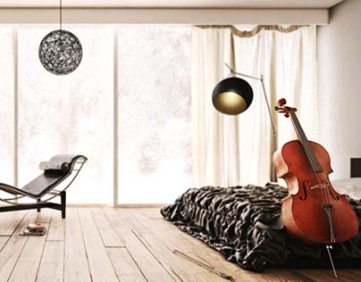 """Cellist's Studio"" Project: Studio Z7 (Brazil)"