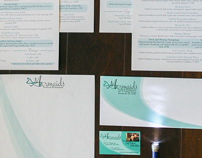 Restaurant Branding: Mermaids Seafood Restaurant