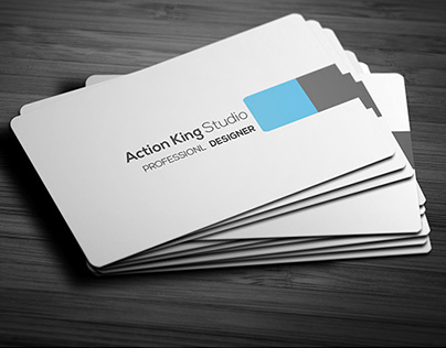 Creative Modern Corporate Business Card Template V.2