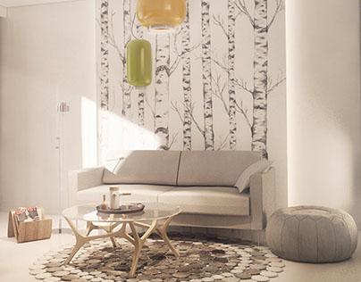 Modern cosy apartment 01