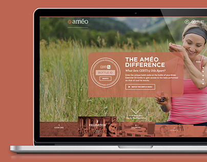 The Améo Difference Website