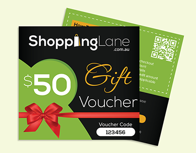 Gift Voucher Card Designs