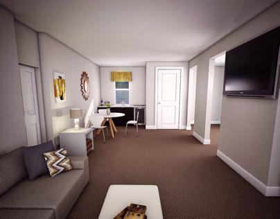 Interior 3D Rendering- SketchUp & Vray