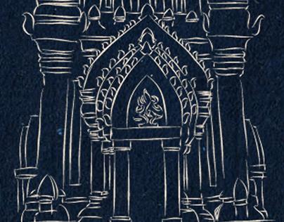 Champa Gods and Goddesses illustration