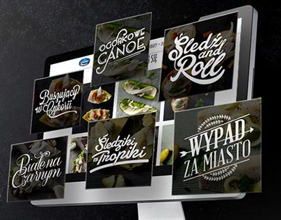 Typography for Lisner new web design