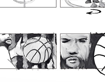 Storyboard Promo Euroliga Canal+. Eurofighters 2014/15