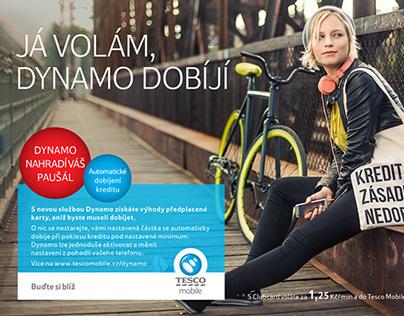 Dynamo for Tesco Mobile