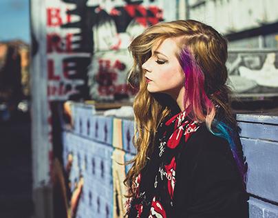 The Girl With the Rainbow Hair