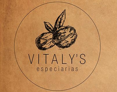 Branding - Vitaly's