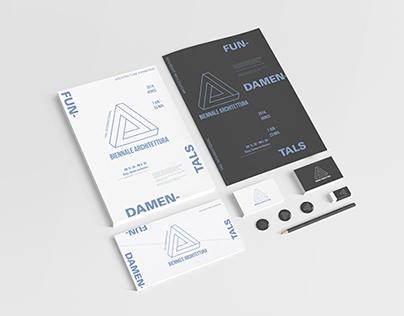 International Architecture Exhibition Identity Design