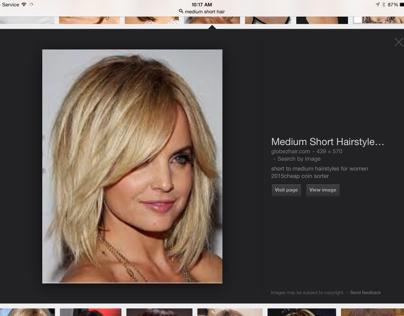 Design medium hair