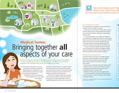 Rush Oak Park Hospital-Winter 2014 Publication