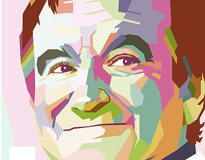 WPAP Portrait Art