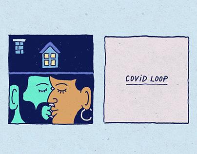 Covid Loop (Animated Comic)