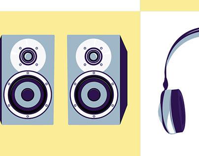 DeciBel Audio Icons