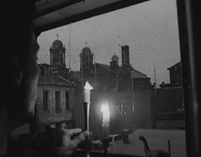 """Sleep"" Art Film/Short 16mm B&W"