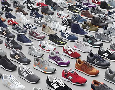 New Balance / 2010 Sales Kit