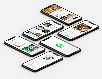Spotify - Daytime Mode (UI Design)