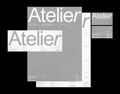 Atelier - Visual identity