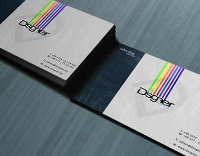 Free Business Card Mockup .psd
