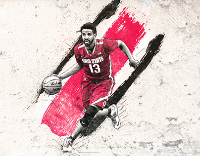 Jaquan Lyle | Ohio State MBB Artwork