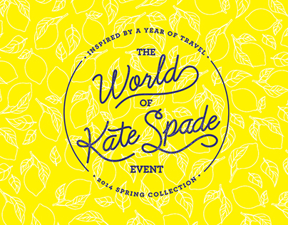 The World of Kate Spade Event