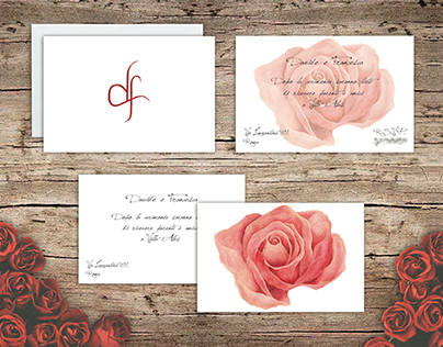 "Wedding Invitation ""Rose"""