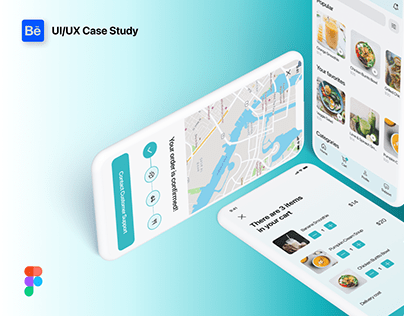 Food Ordering App Design - UI/UX Case Study