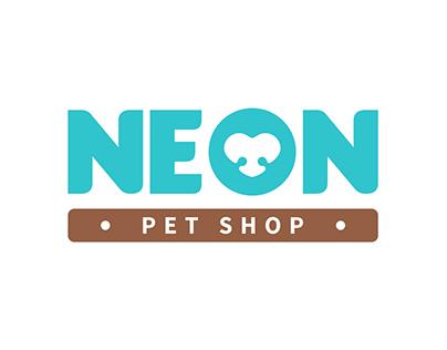 Neon Pet Shop   Visual Identity