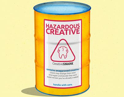 Hazard Creative Illustration
