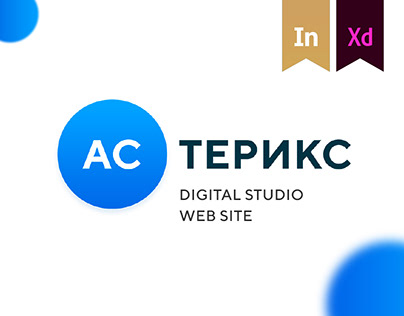 Asterix digital studio website design